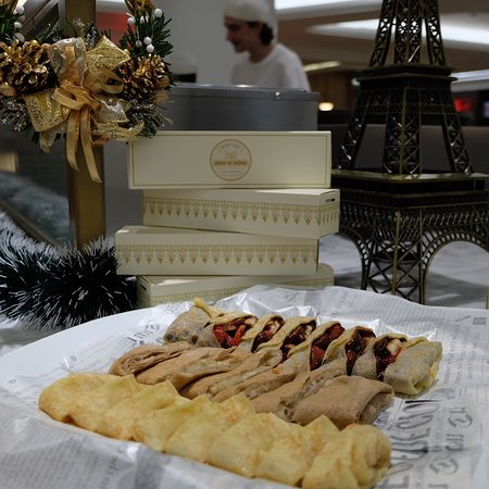 Authentic crepes and galette from France