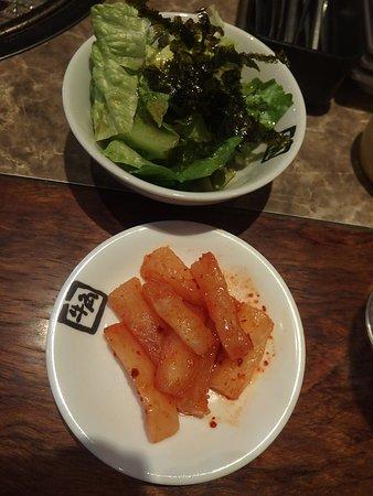 サラダ、カクテギ