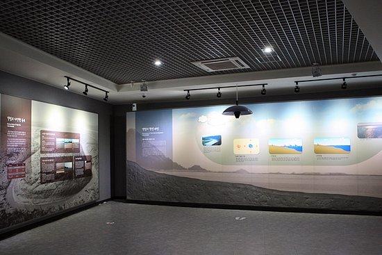 신안 갯벌센터 슬로시티센터 내부전경
