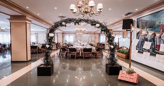 Islares, Ισπανία: Entrada salón principal para la celebración de bodas.