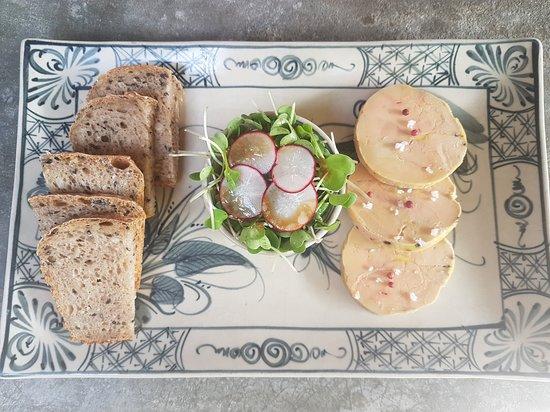 Duck liver , Foie gras 100g/ 300k
