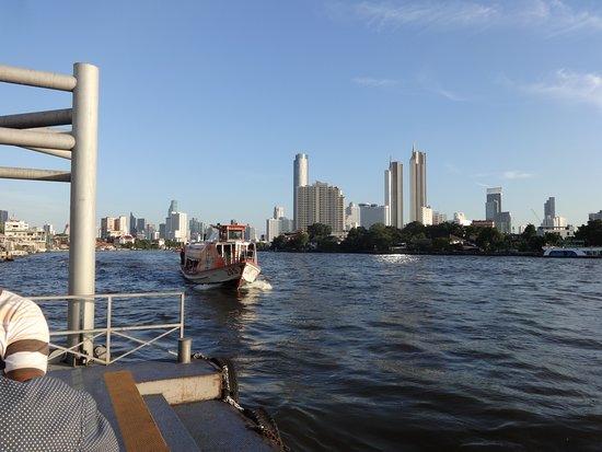 view of the Bangkok skyline