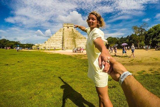 Chichen Itza Premium avec Cenote et Valladilid City de Cancun : Chichen Itza Premium with Cenote and Valladilid City from Cancun