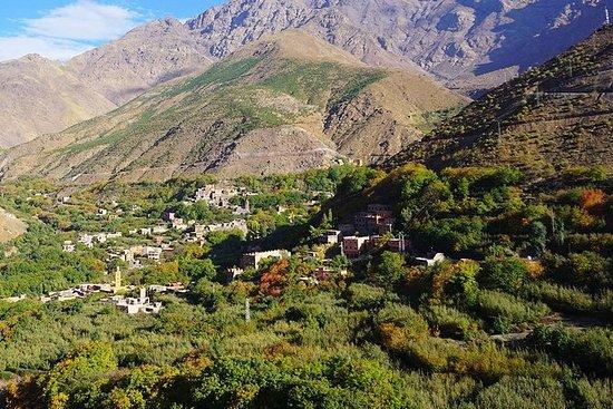 高阿特拉斯山脉一日游:Asni-Imlil,在古堡图卜卡勒(Kasbah...