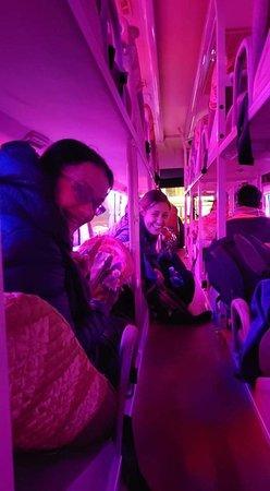 Disco queen coffee bus!