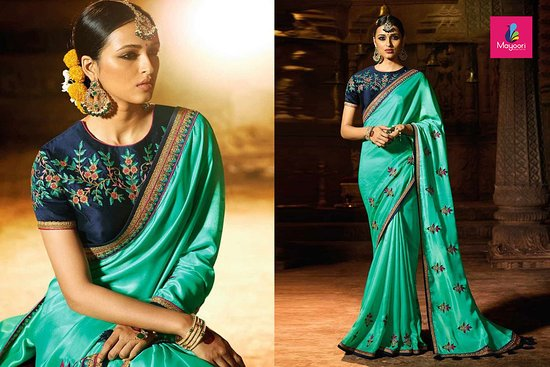Party Wear Sarees in Lucknow at Mayoori sarees Aliganj, Lucknow