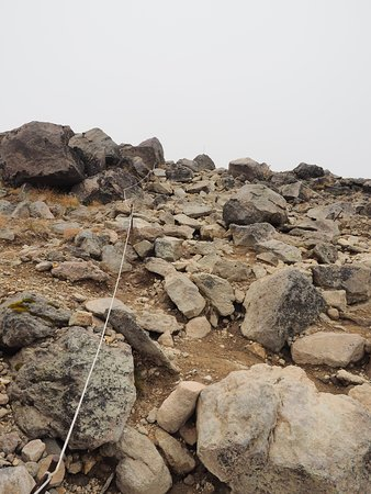 steep route to the summit