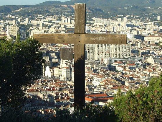 Marsella, Francia: Marseille vu depuis la Bonne Mère.