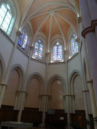 Le choeur de l'église du Thabor