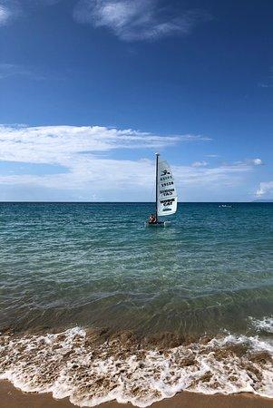 Sailing Langley Fort Royal Guadeloupe
