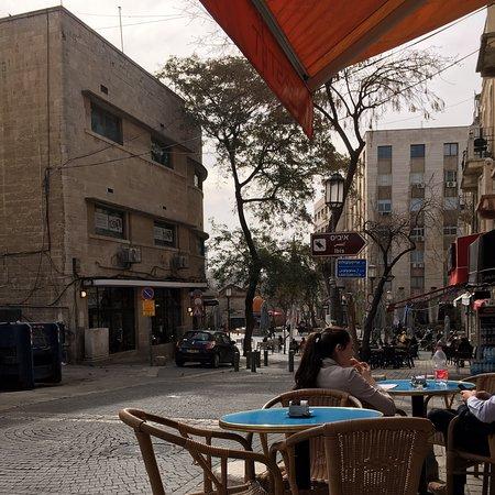 Jeruzalem, Israël: Cafe Bated Jerusalem