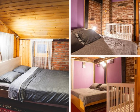 מחוז ואראז'דין, קרואטיה: Two bedrooms with two-king size beds and a baby crib