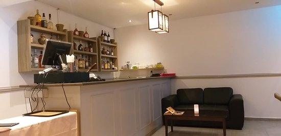 Just opened , Mr Woo Chinese restaurant in the center of paphos serving Chinese & Thai cuisine . reception area ..