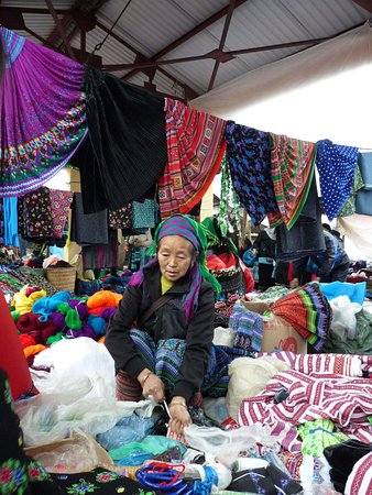 Muong markt