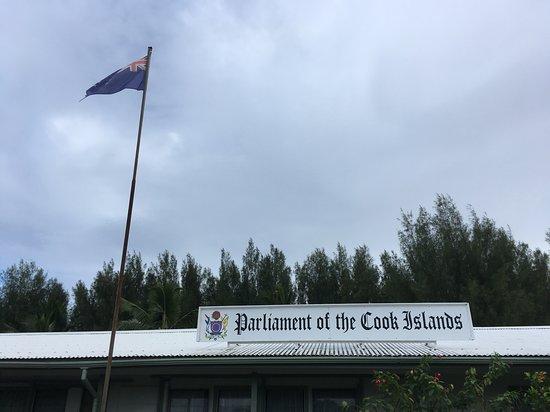 Avarua Rarotonga, Îles Cook  Parliament