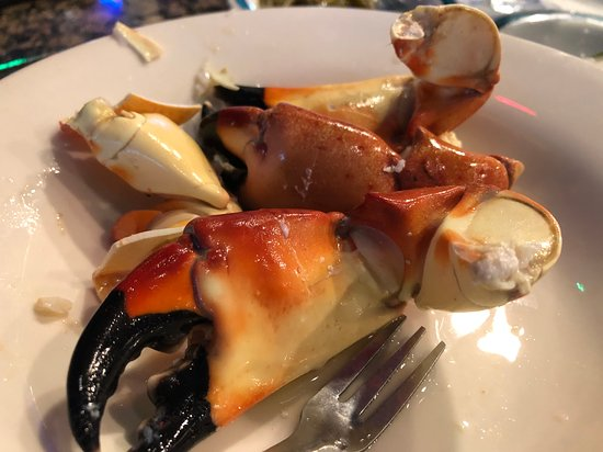 Stone crab, the best on the east coast.