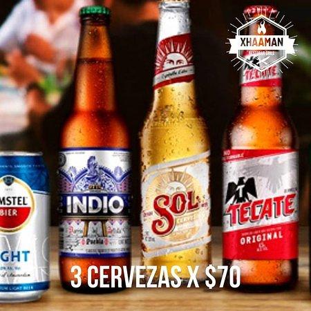 Diciembre nos trae 3 cervezas por $70.-