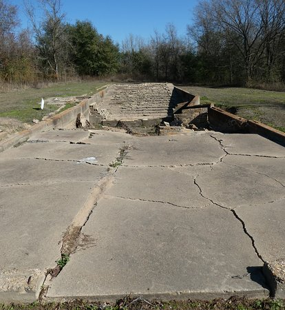 Another View of Remains of Theater for Prisoners