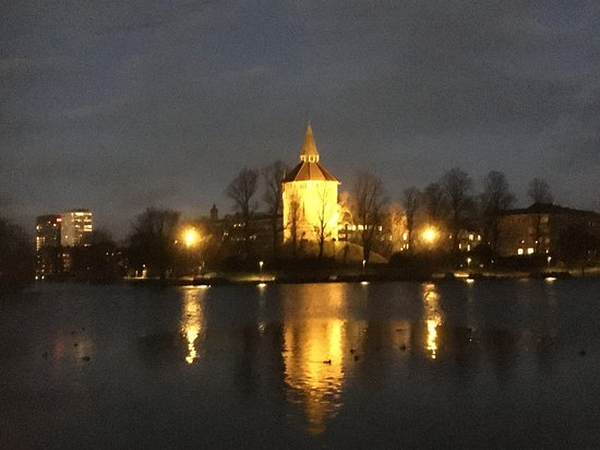 Pildammstornet Pildammsparken Malmö, Suède