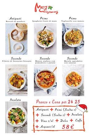 menu per natale 24 ,25 (pranzo e cena)