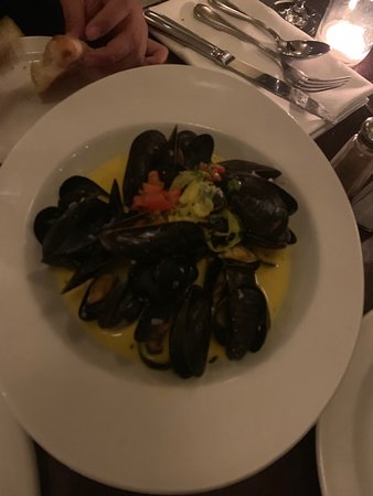 Mussels For An Appetizer