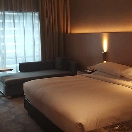 Une chambre spacieuse et très propre