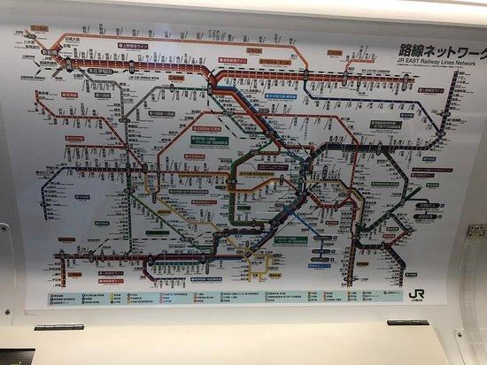 路線ネットワークがわかりやすく表示