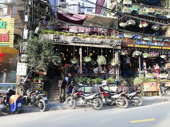 Le Petit Gecko restaurant, street view