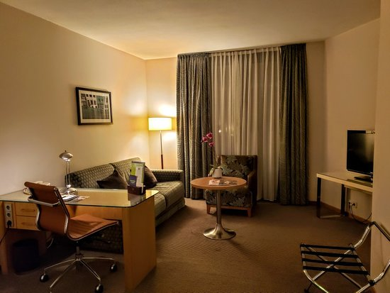 My Room at Doubletree by Hilton Luxembourg