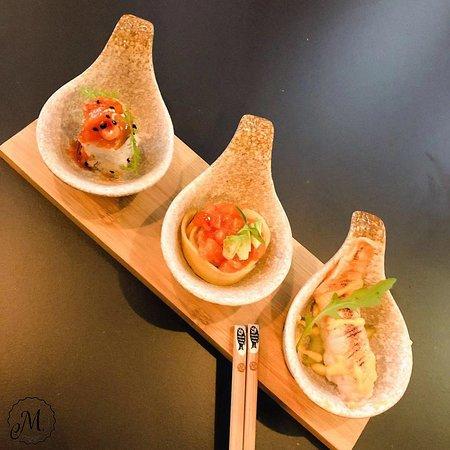 Kleine Delikatessen für Ihren Mund. Sushi extravagant und lecker!