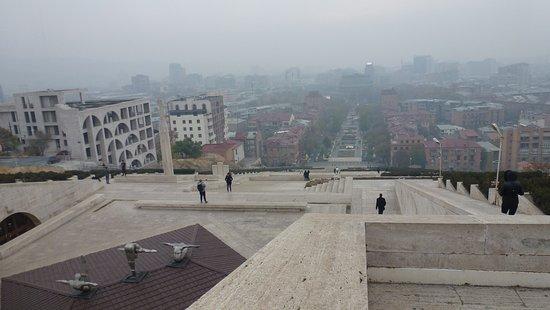 Erevan, Arménia: Ереван. Каскад.2