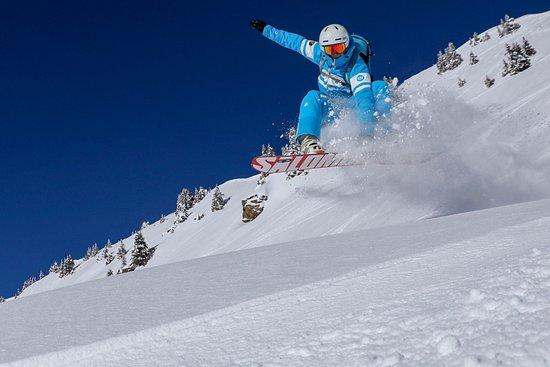 Snowboard pow-pow !!!