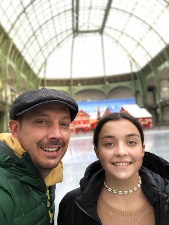Ice skating in a Palais?