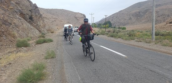 Iran biking tours by Maral Tours