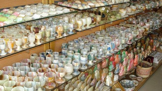Alabaster souvenirs