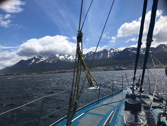Inolvidable experiencia navegando con el velero If en el Canal de Beagle y descubriendo la naturaleza virgen de la isla H.  Gracias Tres Marias!