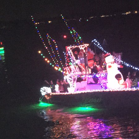 Terrific dinner with boat parade