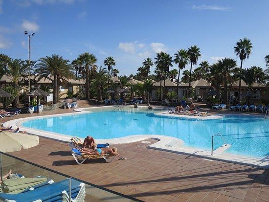 Large unheated pool.