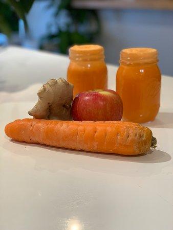 Apple Carrot Ginger
