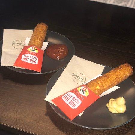 Rösti Hot Dog