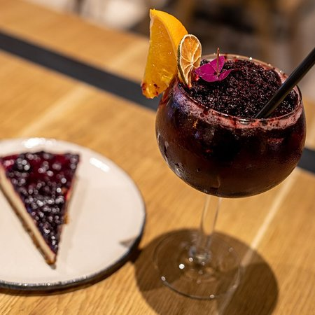 Crushed Blackberry cocktail