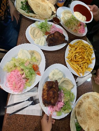 Delicious food, tender grilled chicken! Very good