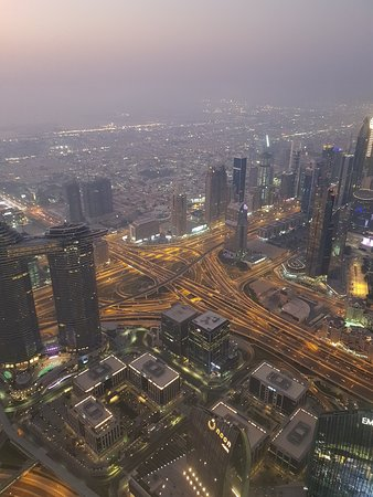"""At the Top, Burj Khalifa - Levels 125+124 """"General Admission"""": Dubai from the top"""
