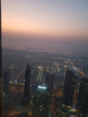 "At the Top, Burj Khalifa - Levels 125+124 ""General Admission"": Sunset"