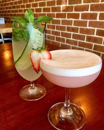 Cocktail menu goes off at night!