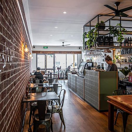 Inside tables for 1 - 12 people. Groups larger than 8 are encouraged to book for daytime dining. Bookings for all tables encouraged at night.