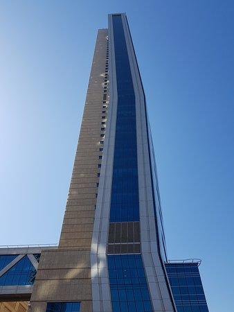 Side view of Sofite Dubai Downtown
