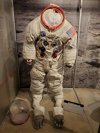 Neil Armstrong's Apollo 11 back-up spacesuit
