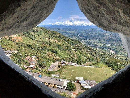 Belalcazar, Колумбия: Monumento a Cristo Rey
