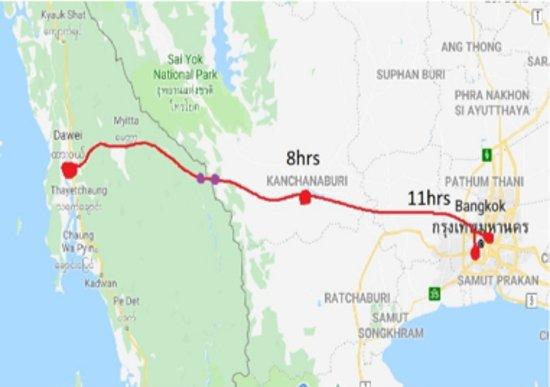 Hello Dawei Border Transfer to Thailand
